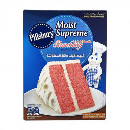 Pillsbury Moist Supreme Strawberry Cake Mix 350g