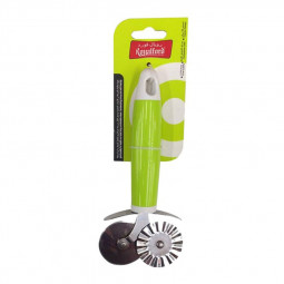 Royalford Double Pizza Cutter Green