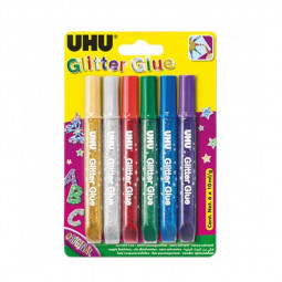 UHU Original Glitter Glue 10ml
