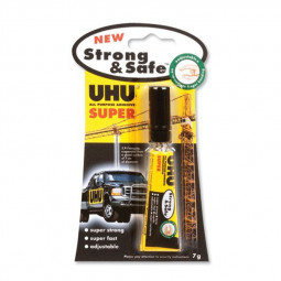 UHU Super Glue Strong & Safe 7ml