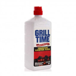 Grill Time Charcoal Lighter Fluid USA 946 ml