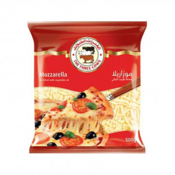 Three Cows Shredded Mozzarella Cheese 500g