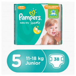 Pampers Baby-Dry Diaper Junior No.5 11-18kg