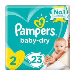 Pampers New Baby-Dry Diapers Size 2, 3-8kg
