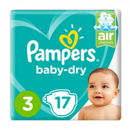 Pampers Dry Diapers Size 3, 5-9kg