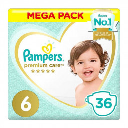 Pampers Premium Care Diapers Size 6,13+ Kg