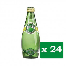 Perrier Natural Mineral Water 330ml Pack of 24