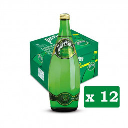 Perrier Natural Mineral Water 750ml Pack of 12