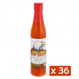 Excellence Extra Hot Sauce 3oz Pack of 36
