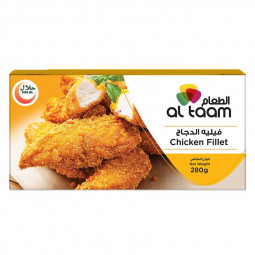 Al Taam Breaded Chicken Fillet 280g