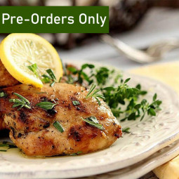 Marinated Chicken Thigh - Lemon & Herbs 500g