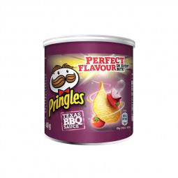 Pringles Barbeque Chips 40gm Pack of 12