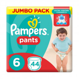 Pampers Pants Diapers Size 6, 44 Count