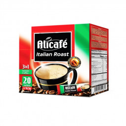 Ali Cafe 3 In 1 Instant Coffee 20 Sachets