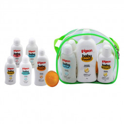 Pigeon Baby Toiletries 6 Pieces Travel Pack