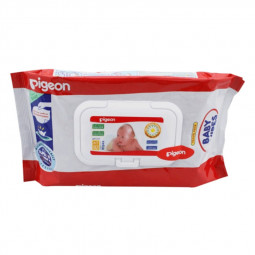 Pigeon Baby Wipe 82 Sheets With Lid