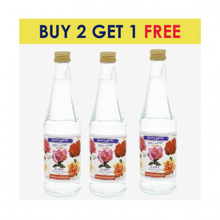 Rabee Rose Water Bottle 430 ml BUY 2 GET 1 FREE