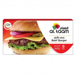 Al Taam Beef Burger 8 - Pieces BUY 2 GET 1 FREE
