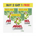 Ariel Detergent Powder 2.5kg  BUY 2 GET 1 FREE