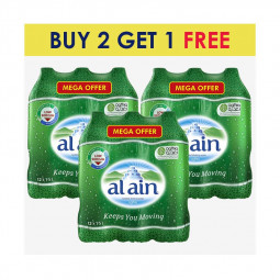 Al Ain Bottled Drinking Water 1.5L BUY 2 GET 1