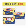 Kraft Block Cheddar Cheese 500g BUY 2 GET 1 FREE
