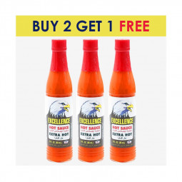 Excellence Hot Sauce 88 ml BUY 2 GET 1