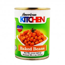 American Kitchen Baked Beans 400gm